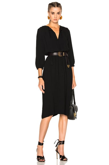 A.P.C. Mona Dress in Black