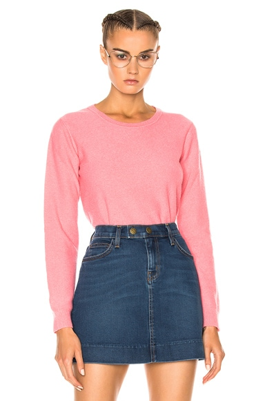 A.P.C. Vic Sweater in Rose Vif