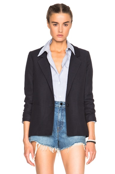 A.P.C. Jacqueline Jacket in Dark Navy