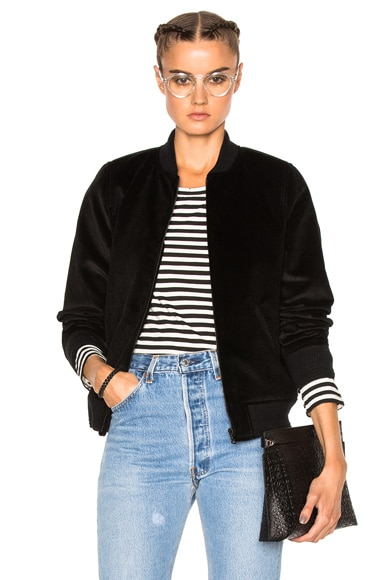 A.P.C. Norma Jacket in Noir