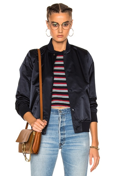 A.P.C. Bomber Jacket in Dark Navy