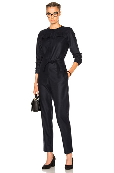 A.P.C. Lana Jumpsuit in Marine Chine