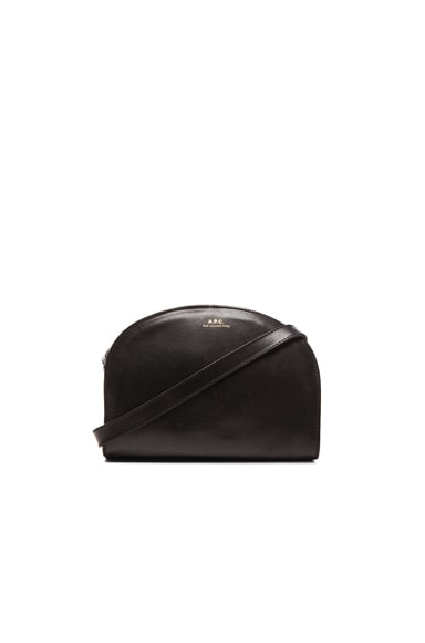 A.P.C. Demi Lune Bag in Black