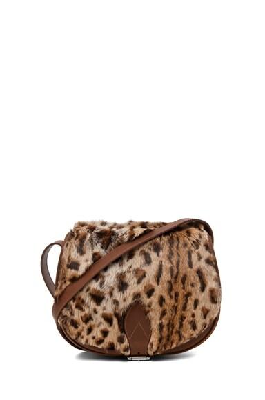 Sac Besace Leopard Bag