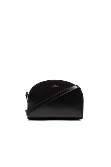 A.P.C. Sac Demi Bag in Black