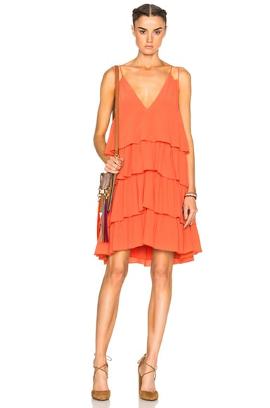 Apiece Apart Canyons Tier Dress in Cactus Flower