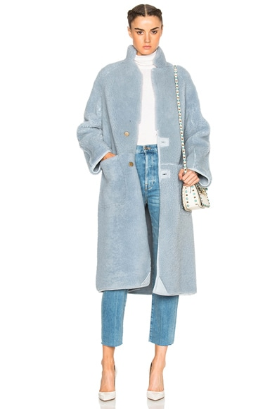 Las Nubes Sheep Shearling Coat