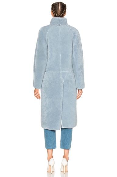 Las Nubes Sheep Shearling Coat
