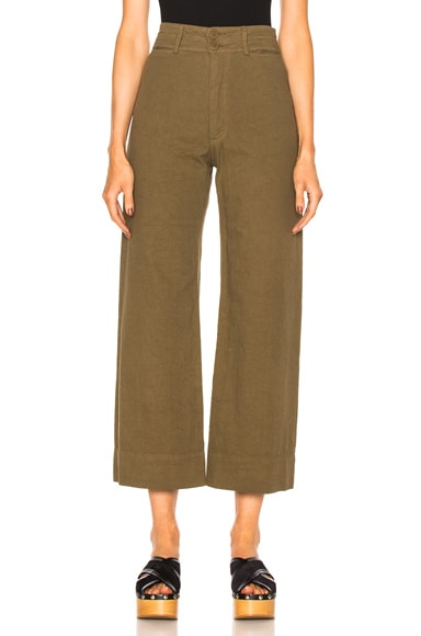 Apiece Apart Wide Leg Pant in Pachumama