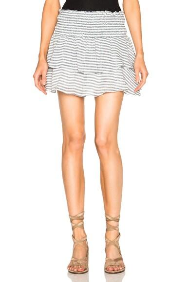 Apiece Apart Analisa Skirt in Large French Stripe