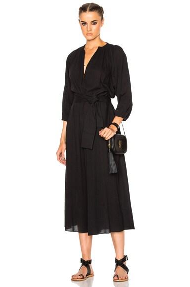 Apiece Apart Isla Wide Leg Jumpsuit in Black