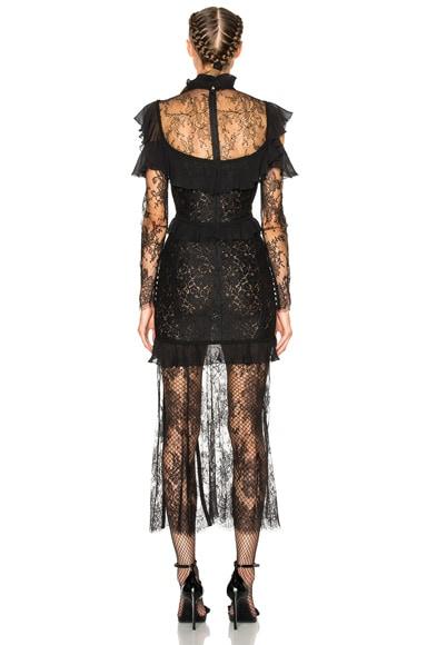 Lace Decollete Chantilly Lace Dress