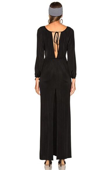 Jersey Deep V Gown