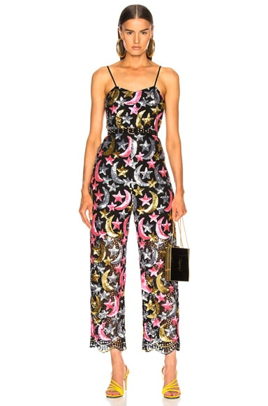 Sequin Star Moon Jumpsuit