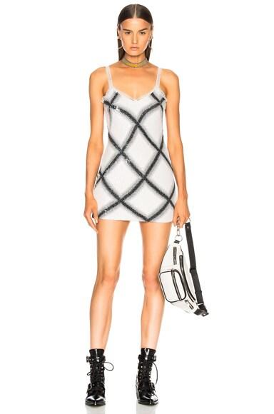 Check Slip Dress
