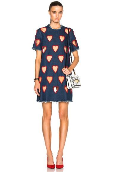 Ashish Tee Dress in Hearts