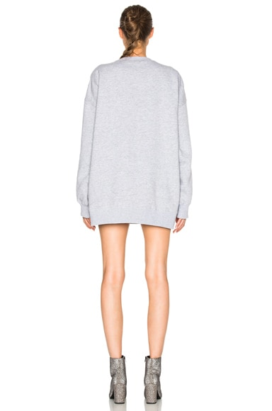 Swirly No Sweat Sweatshirt Dress