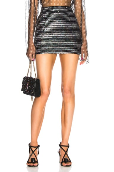 for FWRD Sequin Mini Skirt