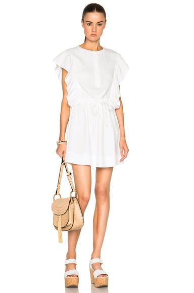 Athe by Vanessa Bruno Ewenn Dress in Ivory