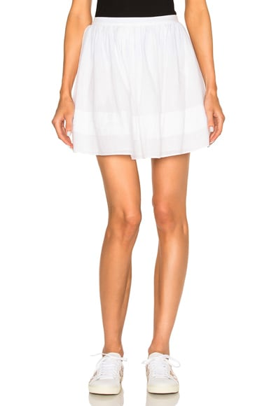 Athe by Vanessa Bruno Eileen Skirt in Blanc