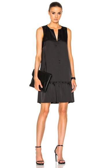 Sleeveless Ruffled Dress