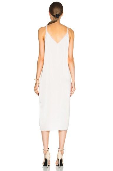 Fringe Satin Cami Dress