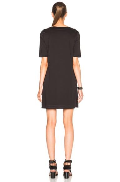 Mercerized Cotton 3/4 Sleeve Dress