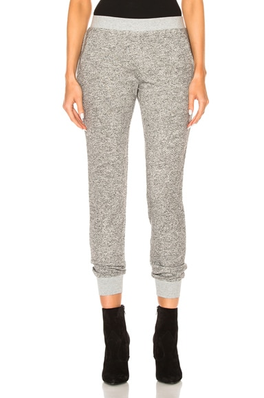ATM Anthony Thomas Melillo Sweatpants in Sparkle Grey