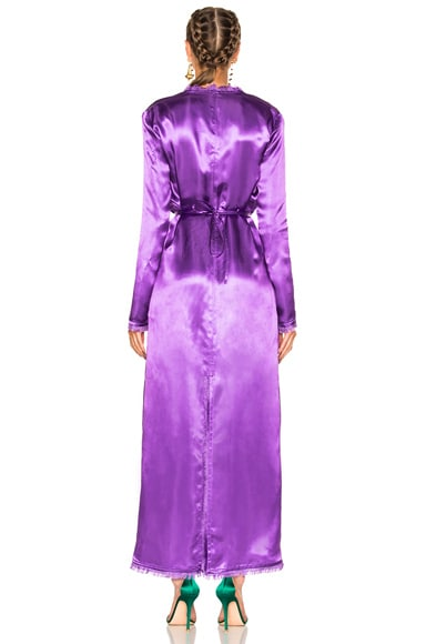 Raquel Satin Dress