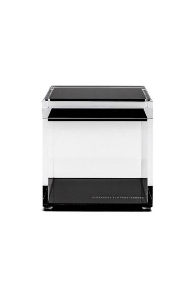 Alexandra Von Furstenberg Voltage Square Treasure Box in Black