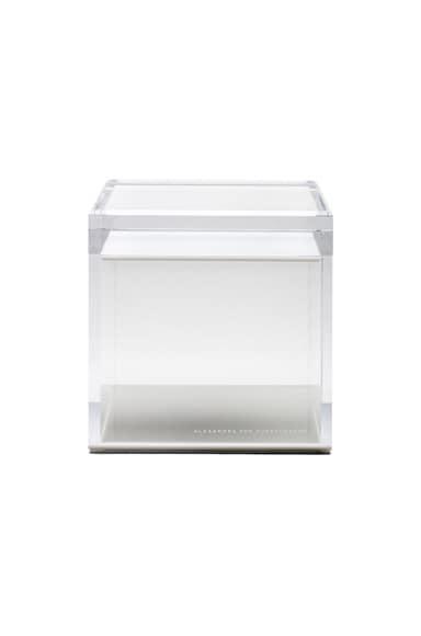 Alexandra Von Furstenberg Voltage Square Treasure Box in White