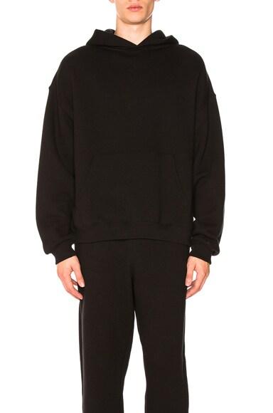 Dense Fleece Hooded Pullover
