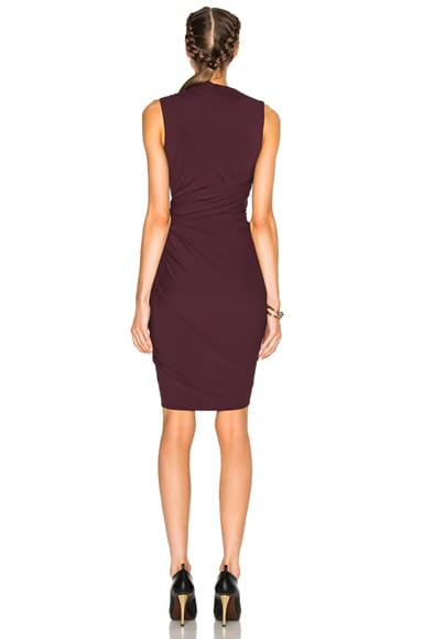 Asymmetric Drape Dress