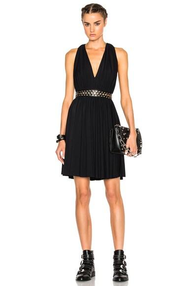 Grommet Mini Dress