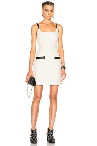 Alexander Wang Fitted Dress in Ivory