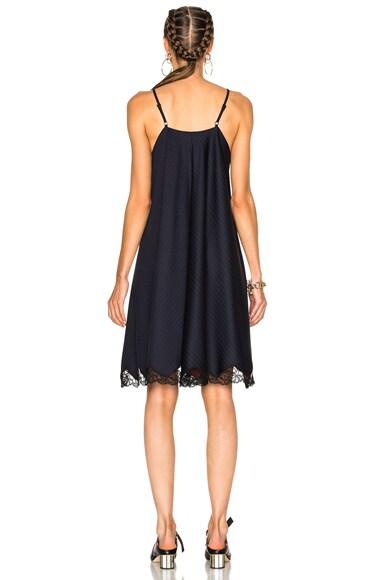 Flared A-Line Apron Dress