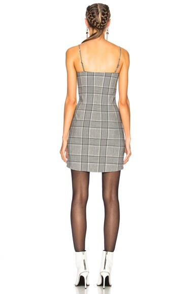 Tailored Mini Dress