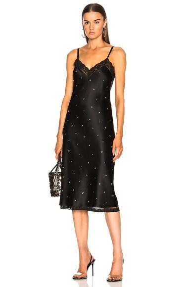 Bias Cut Slip Dress