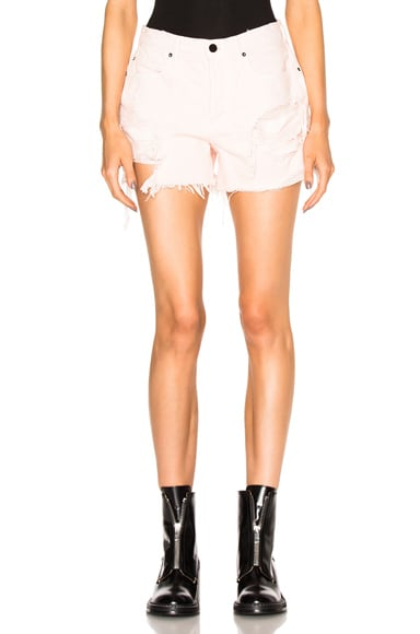 Alexander Wang Oversized Shorts in Carnation