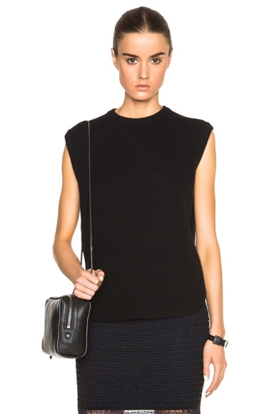 Oversized Tank with Shirt Tail Hem