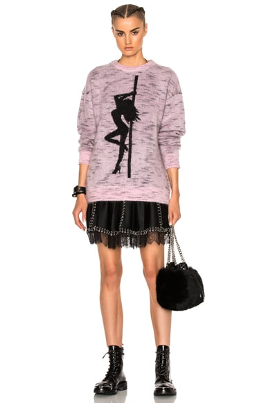Jacquard Girl Sweater