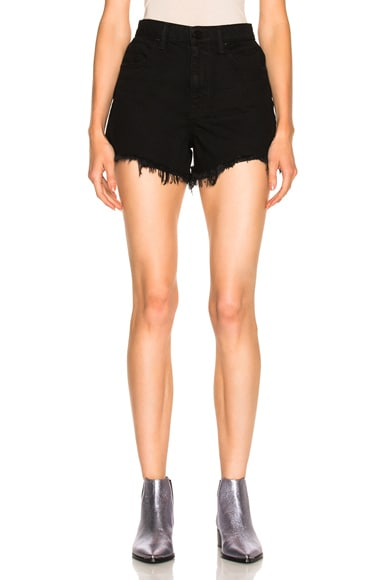 Alexander Wang Bite Short in Black Fade