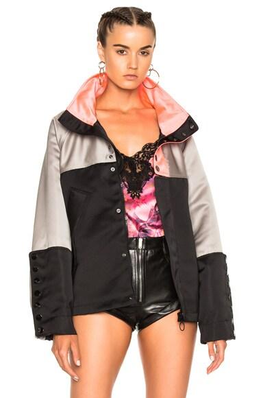 Alexander Wang Oversized Windbreaker Jacket in Nocturnal