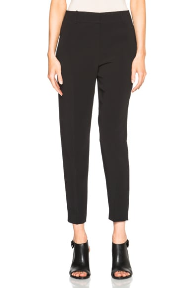 Alexander Wang Tapered Leg Ankle Pants in Onyx