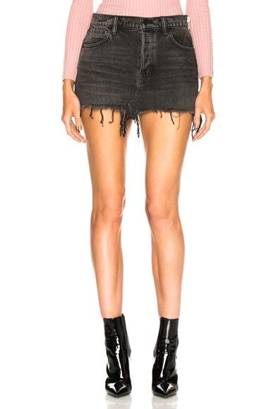 5 Pocket Zip Skirt
