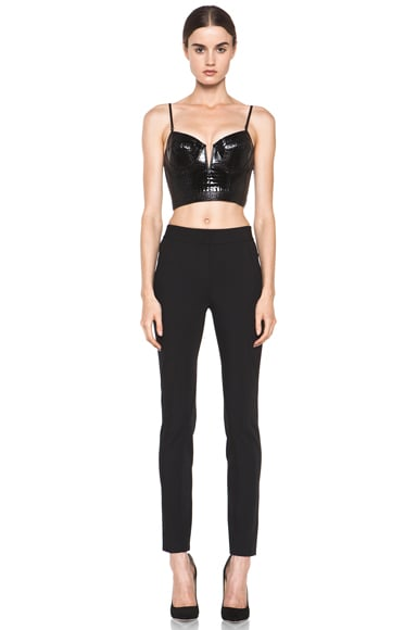 Bustier Contouring Seam Top