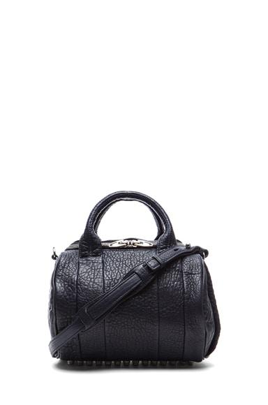 Rockie Pebble Bag with Rhodium