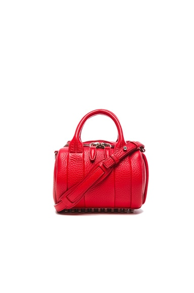 Alexander Wang Mini Rockie Bag with Silver Hardware in Cult