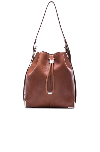 Alexander Wang Leather Prisma Bag in Natural