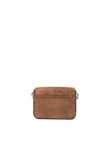 Suede Prism Bag